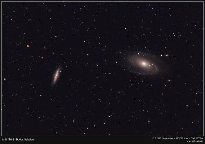 M81/M82, Bodes Galaxie