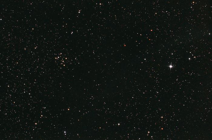 M29, Offener Sternhaufen im Schwan