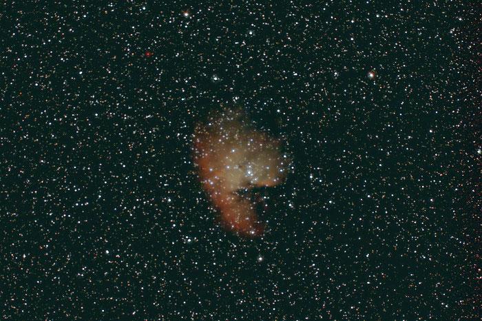 NGC 281, Pac Man Nebel
