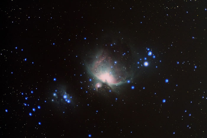 M42 Orionnebel, Running Man, Sternbild Orion