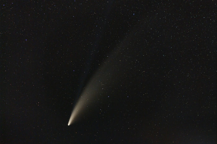 Komet Neowise am 14.7.2020