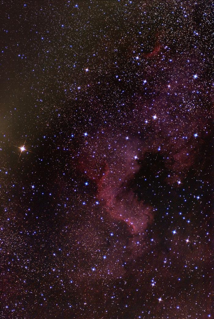 NGC 7000, Nordamerikanebel