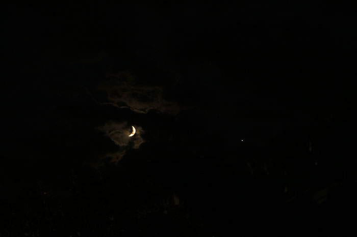 Mond - Jupiter Konstellation