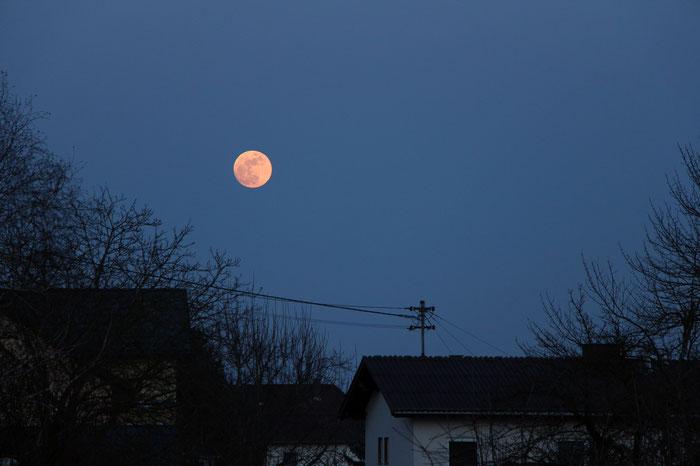 Mondaufgang, Vollmond