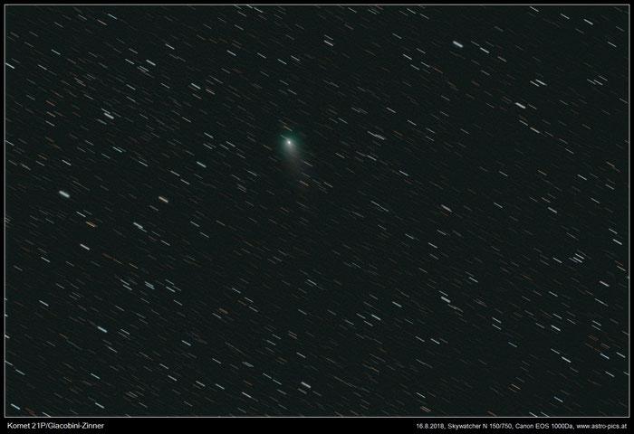 Komet 21P, Giacobini-Zinner mit Startrails