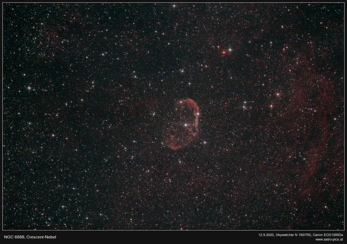 Mondsichel-Nebel, NGC 6888