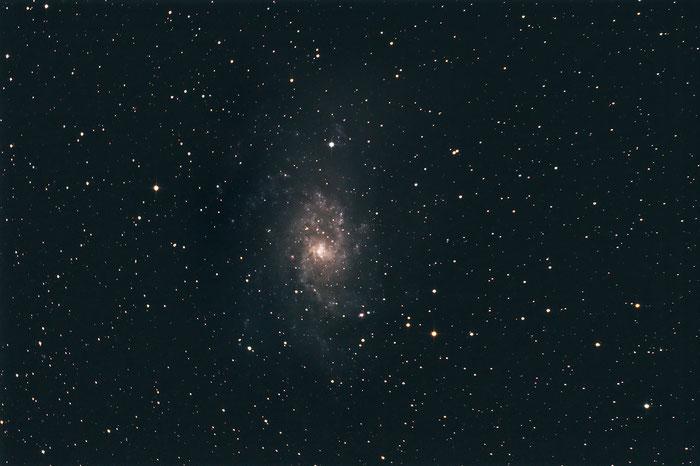 M33, Dreiecksgalaxie, Dreiecksnebel