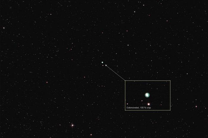 NGC 2392, Eskimonebel