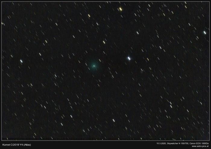 Komet C/2019 Y4 (Atlas) im März 2020
