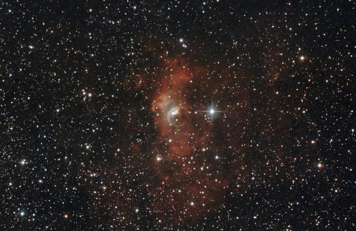 NGC 7635, Blasennebel