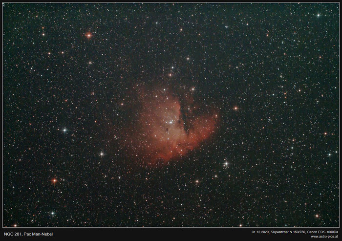 NGC 281, Pac Man-Nebel
