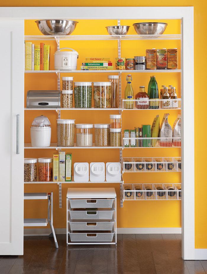 Regalsystem Speisekammer - Regalsystem Abstellraum - Hauswirtschaftsraum