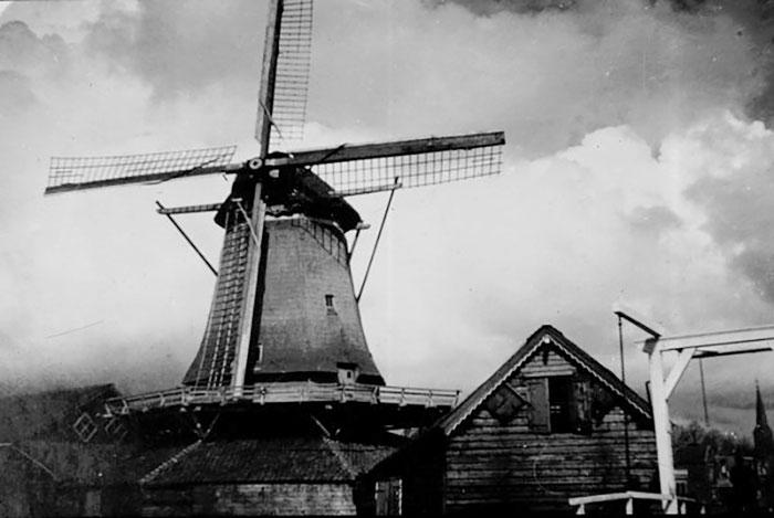 Molen de Weert (1990) - (Foto: Stichting Oud Meppel)