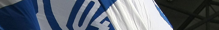Fahne des FC Schalke 04