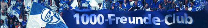 Schalker Nordkurve und 1000-Freunde-Club