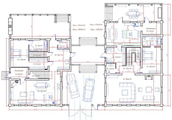 план деревянного дома,бревенчатый дом