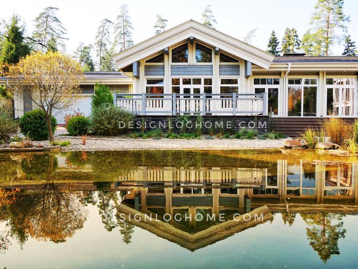 дом из кленного бруса,баня из клееного бруса,баня с бассейном,клееный брус,лафет