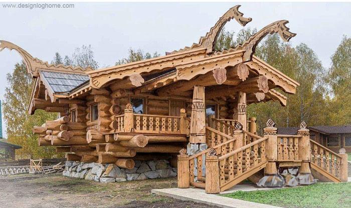 Дом по технологии post beam