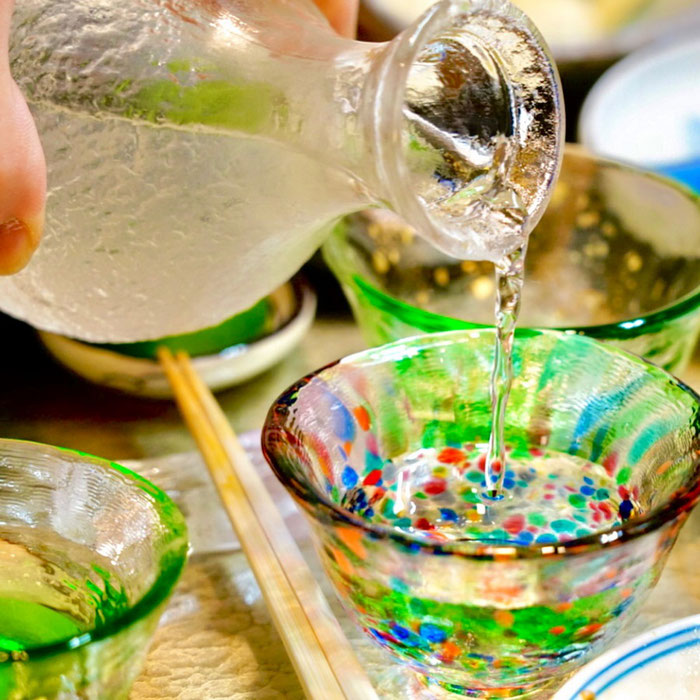 佐賀県の酒蔵天吹純米大吟醸夏色は花酵母の辛口日本酒