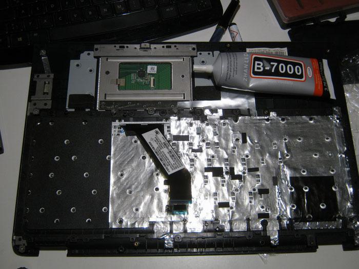 Reparatur Tastaturaustausch bei einem Laptop Berlin Steglitz Zehlendorf