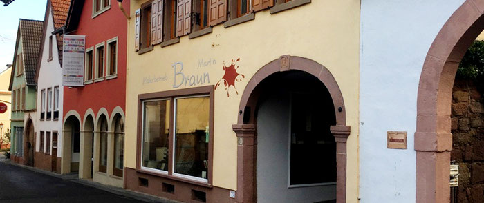 Malerbmeisterbetrieb Martin Braun Maikammer