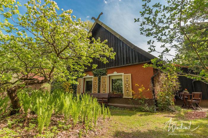 Spreewald Ferienwohnung Wendland Wohnküche