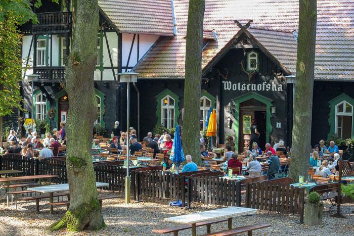 Spreewald Kahnfahrtenmit Essen Wendland Gasthaus Wotschofska