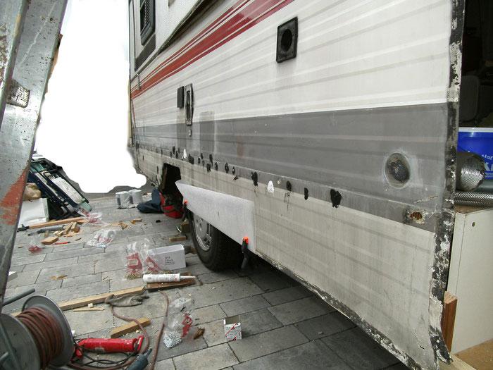 Fußboden Im Wohnwagen Erneuern ~ Wohnwagen boden knarzt wohnwagen und wohnwagentechnik