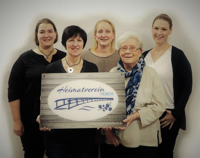 v.l.n.r.:  Juliane  Hoth,  Christine  Freitag,  Sandra  Drews,  Dorothea  Kimmel,  Maren Eggert   (Foto von Richard Kurth)