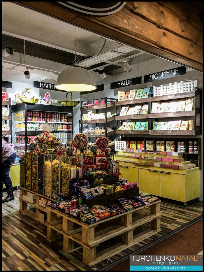 7 Дизайн магазина сладостей  ДИЗАЙН ИНТЕРЬЕРОВ МОСКВА 89163172980