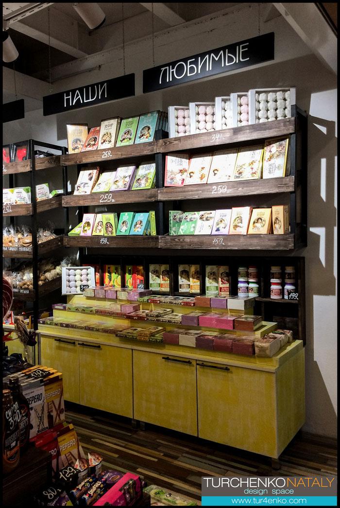 8 Дизайн магазина сладостей  ДИЗАЙН ИНТЕРЬЕРОВ МОСКВА 89163172980