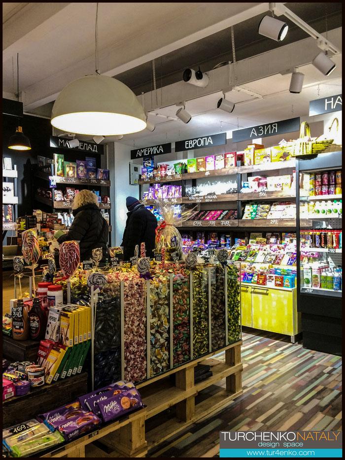 9 Дизайн магазина сладостей  ДИЗАЙН ИНТЕРЬЕРОВ МОСКВА 89163172980