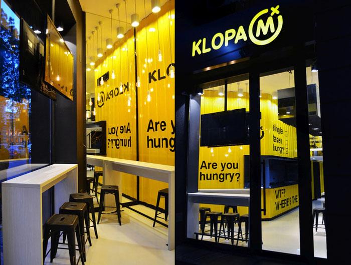 Дизайн фасада кафе и ресторана