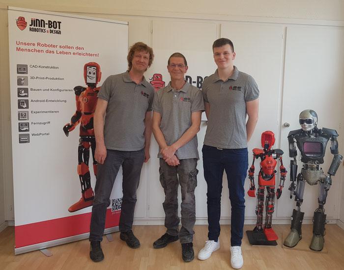 Assistenzroboter Schweiz Team Jinn-Bot
