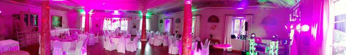 Hochzeit DJ Saar Saarland Party Geburtstag Firmenfest Linslerhof Romantik Hotel von Boch Saal Hubertus Überherrn Frankreich feiern