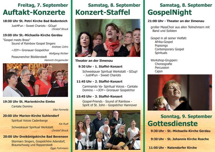 10. NGCT - Konzerte - Übersicht