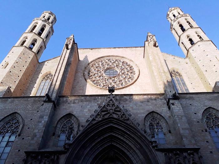 Игнатий Лойола в церкви Санта Мария дель Мар