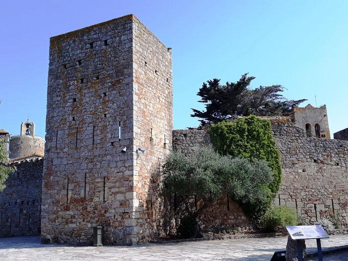 Пальс - крепостные стены