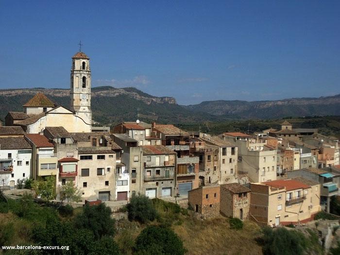 Красивые места и деревни Каталонии - Гратальопс