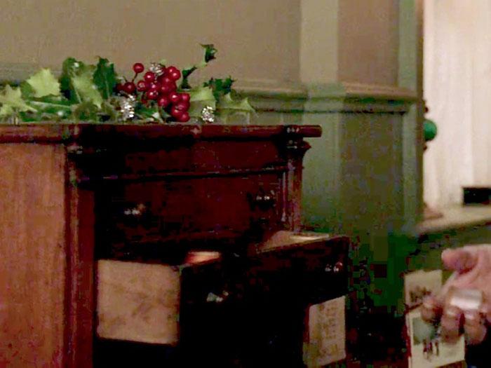 クリスマス、飾り、ディスプレイ、柊
