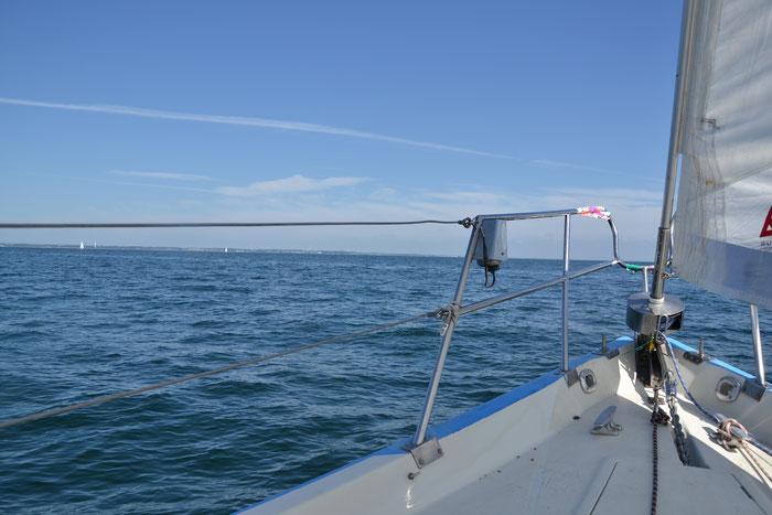 Wir alle lieben die Freiheit auf dem Wasser.