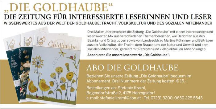 Abo Goldhaube Info