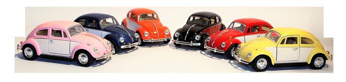 VW Käfer, 1:32, zweifarbig, Volkswgagen
