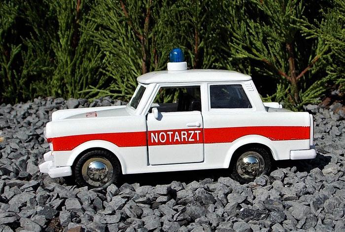 Trabant 601, Notarzt, Trabbi