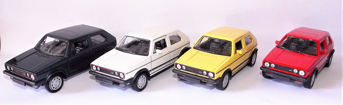 Volkswagen Golf I GTI, Modellauto, VW,