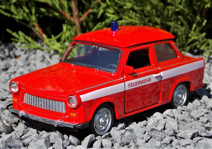 Trabant 601, Feuerwehr, Trabbi, 1:30