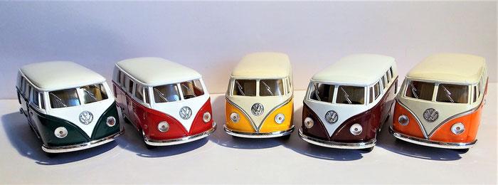 VW Bulli T1,Samba, Modellauto 1 : 32