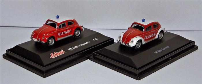 VW Käfer Feuerwehr, Schuco