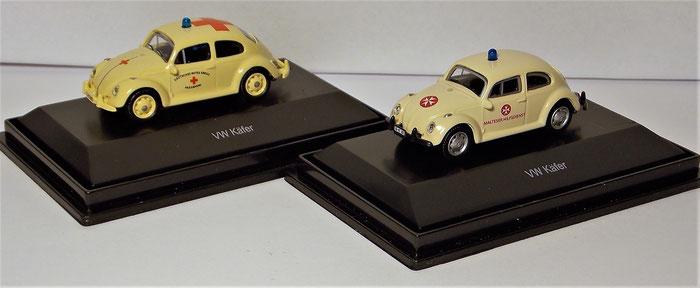 VW Käfer Dienstwagen, Rotes Kreuz, Malteser