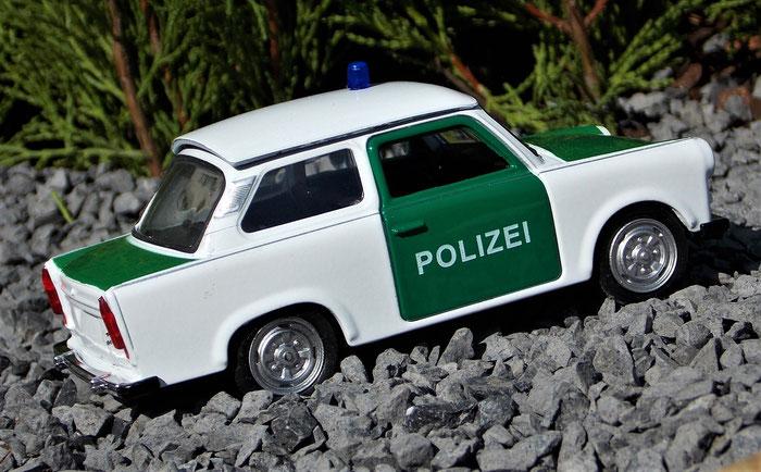Trabant 601, Polizei, Trabbi
